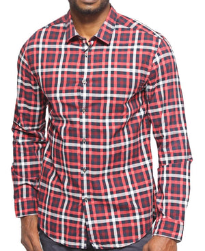 Slim Fit Hugo Boss Shirt - Red