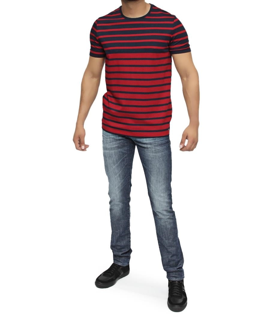 Regular Fit Hugo Boss T-Shirt - Burgundy