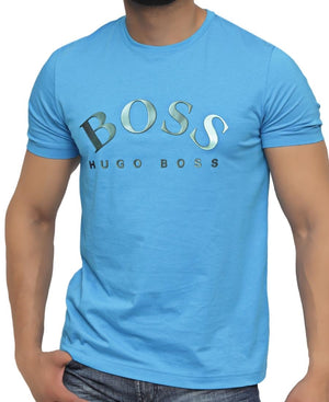 Slim Fit Hugo Boss T-Shirt - Light Blue
