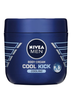 Nivea Body Cream Cool Kick 400ml - Blue