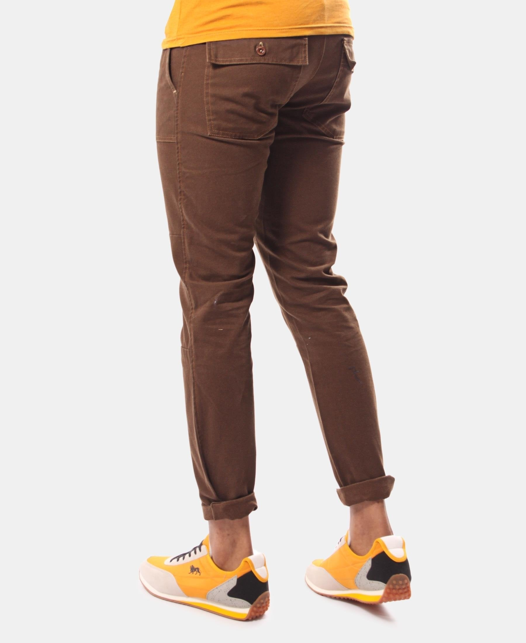 Men's Casual Pants - Choc