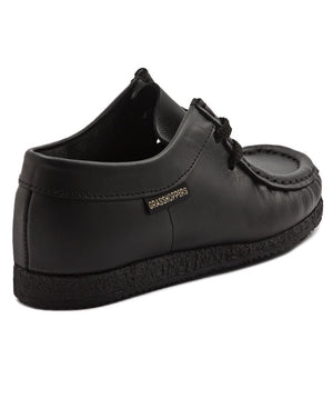 Boys Casual Moccasin - Black