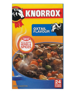 Knorrox Oxtail Cubes 24S - Brown