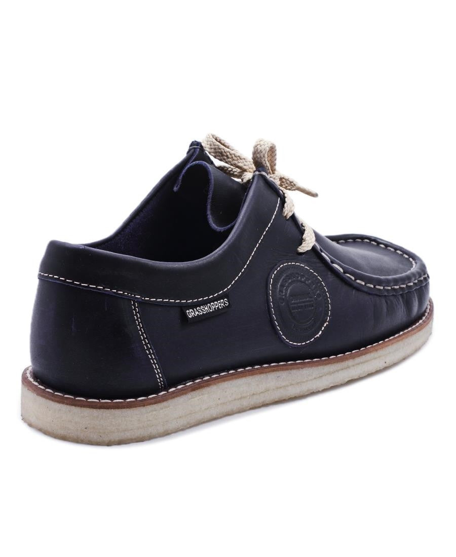 Casual Moccasin - Navy