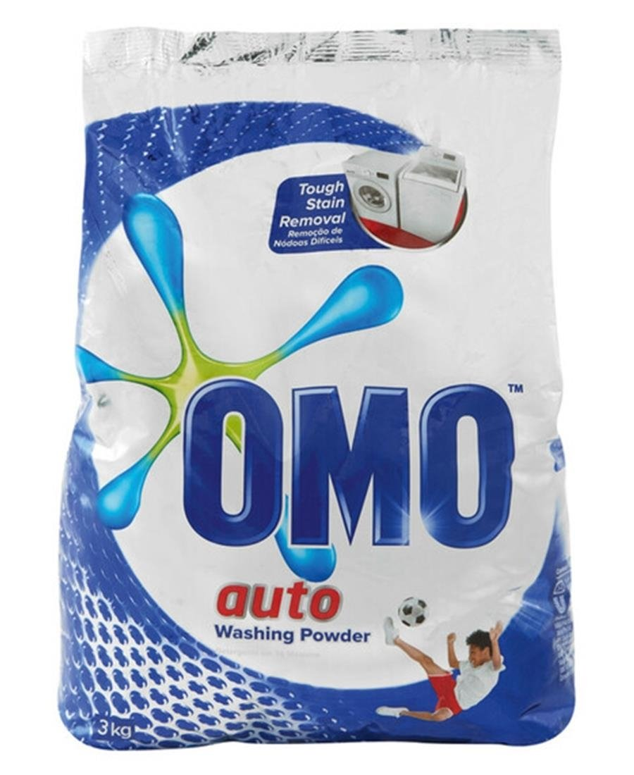 Omo Auto Washing Powder 3Kg - Blue