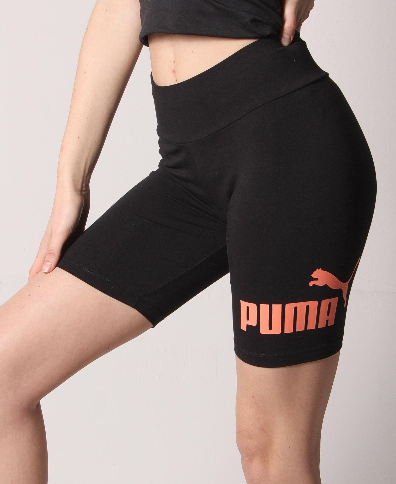 "Ladies' Puma ESS+ 7"" Short Tights - Black"