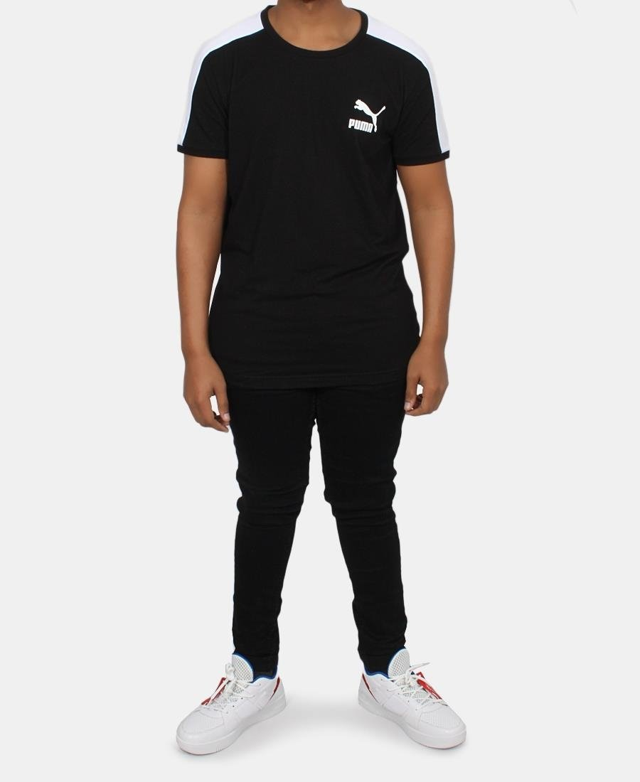 Puma Iconic T7 Slim Tee - Black