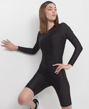 Ladies' TFS Fashion Unitard - Black