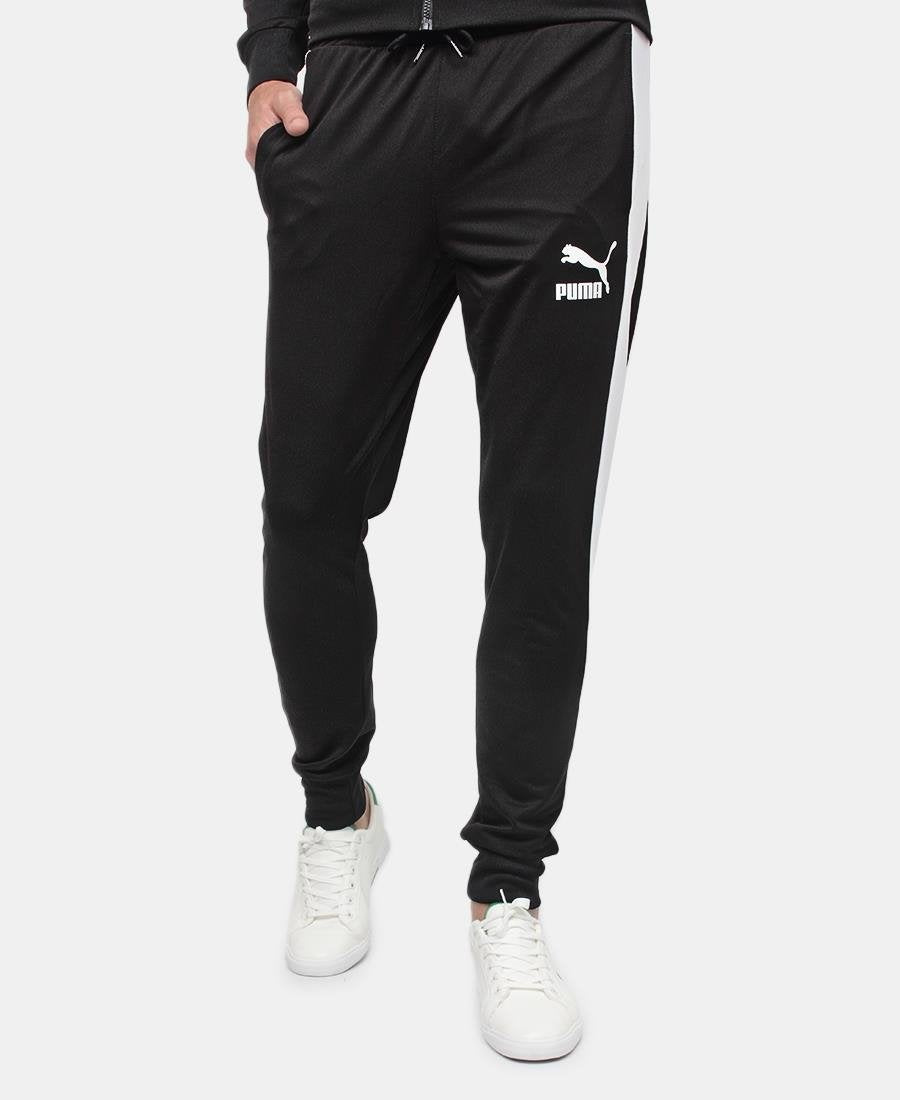 Iconic T7 Track Pants - Black