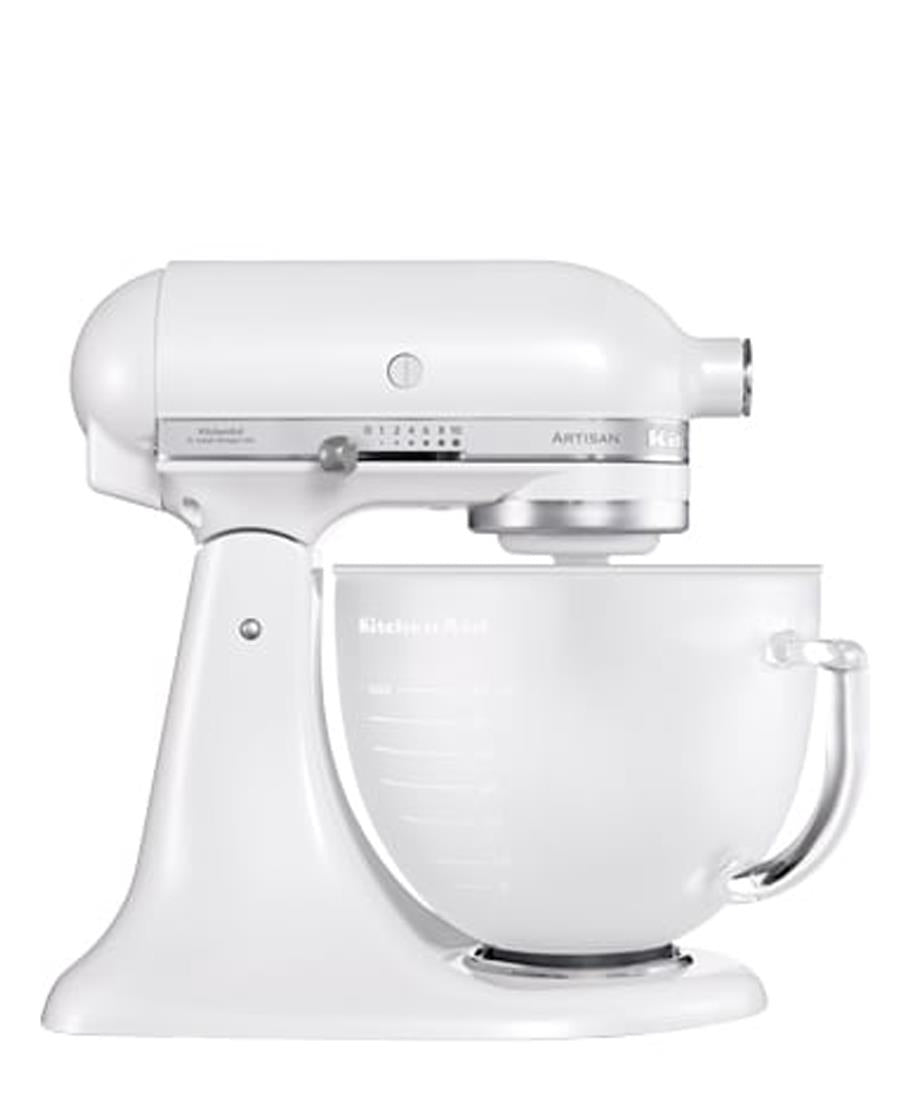 Kitchenaid 4.8L Stand Mixer + Free Bakeware Set - Frosted Pearl
