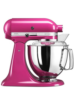 Kitchenaid 4.8L Stand Mixer + Free Bakeware Set - Cranberry