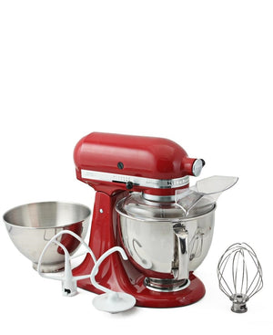 KitchenAid 4.8L Stand Mixer + Stove Top Kettle - Cranberry