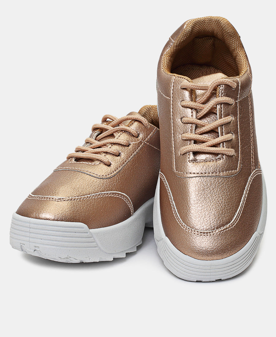 Girls Sneakers - Rose Gold