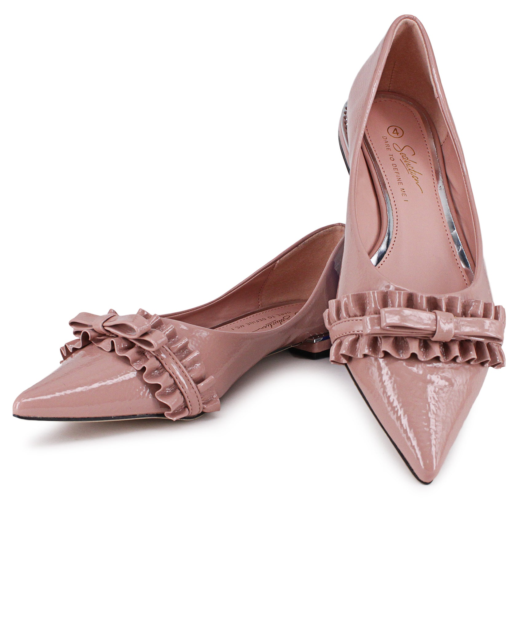 Pointy Pumps - Pink