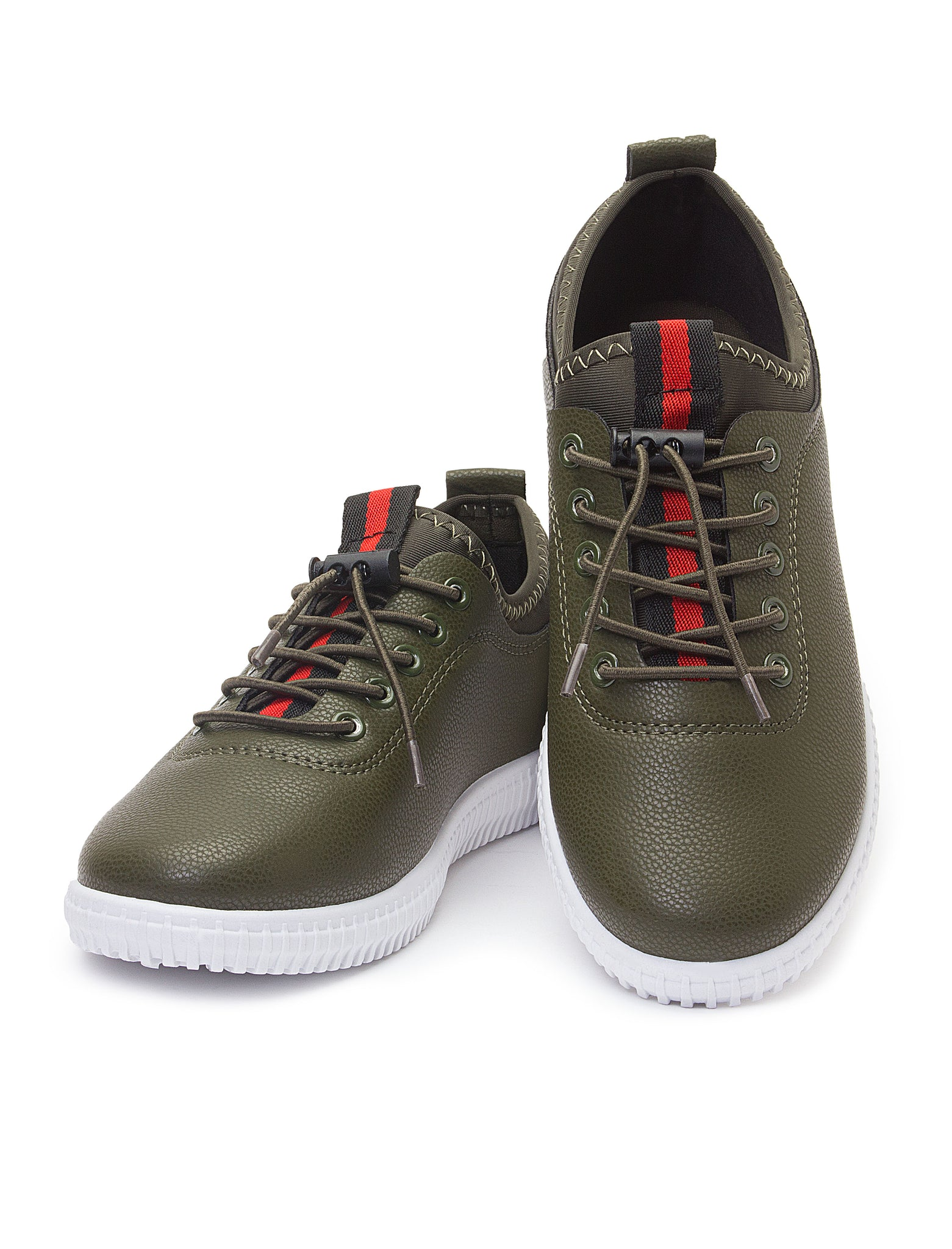 Ladies' Sneakers - Olive