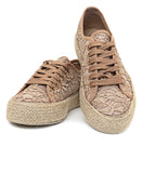 Ladies' Casual Sneakers - Taupe