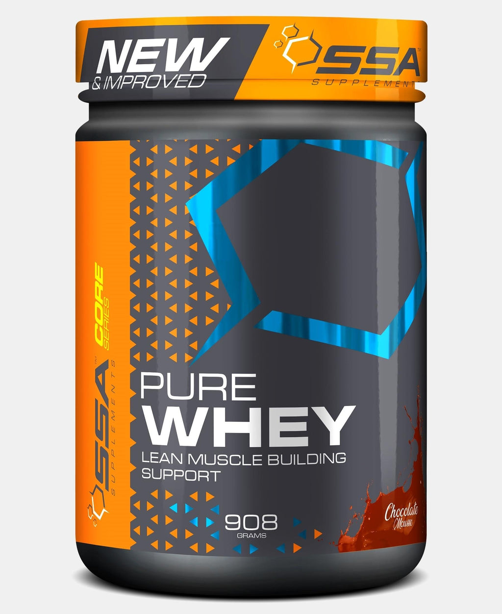 908G Pure Whey Chocolate Mousse - Black