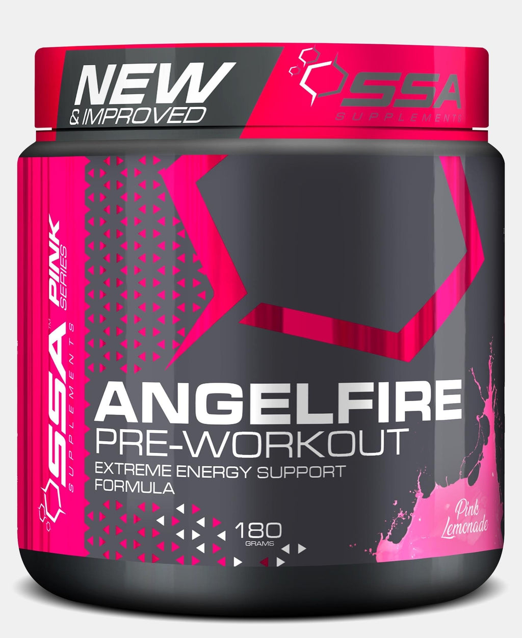 180G Angel Fire Pink Lemonade - Black