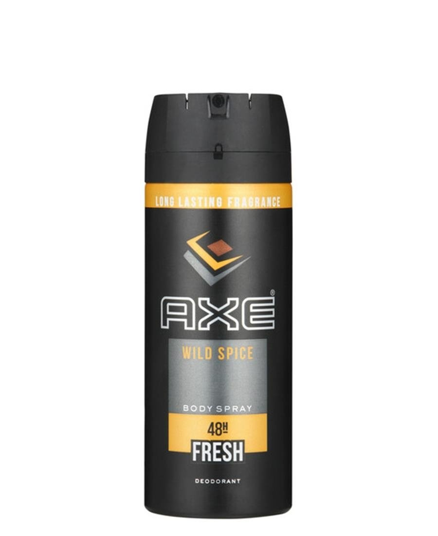 Axe Deo Wild Spice 150ml - Black