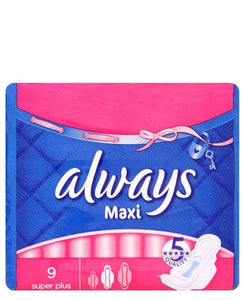 Always Maxi 9S Super Plus  - Blue
