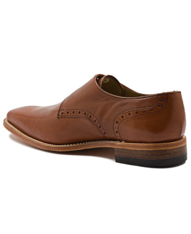 Double Monk Strap - Tan