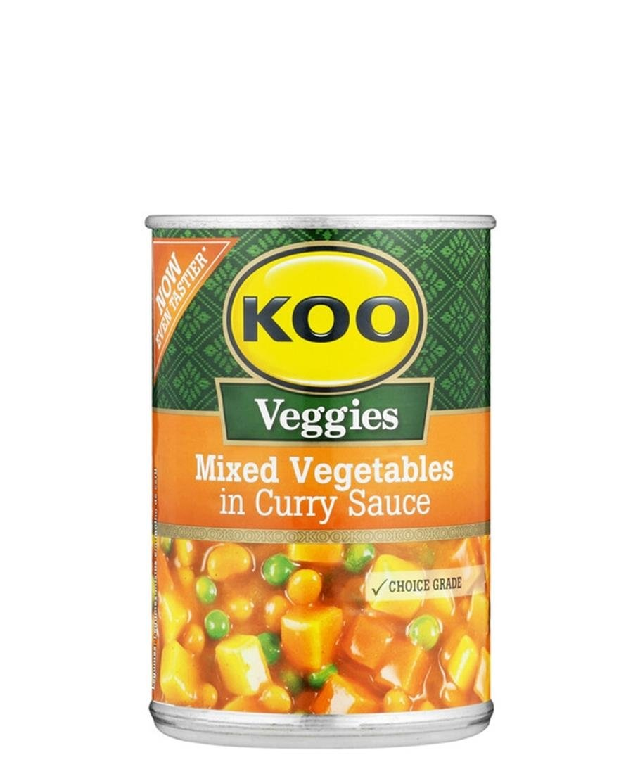 Curry Veggies Hot  420g - Black