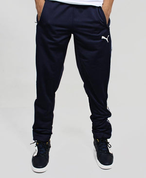 Puma Tape Poly Track Pants - Navy