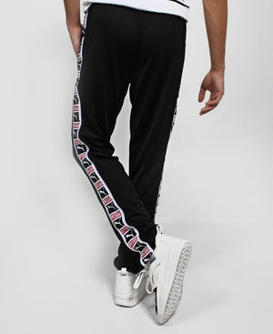 Puma Tape Poly Track Pants - Black