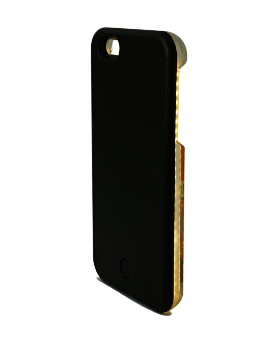 Iphone 6/6S LED Cover - Black