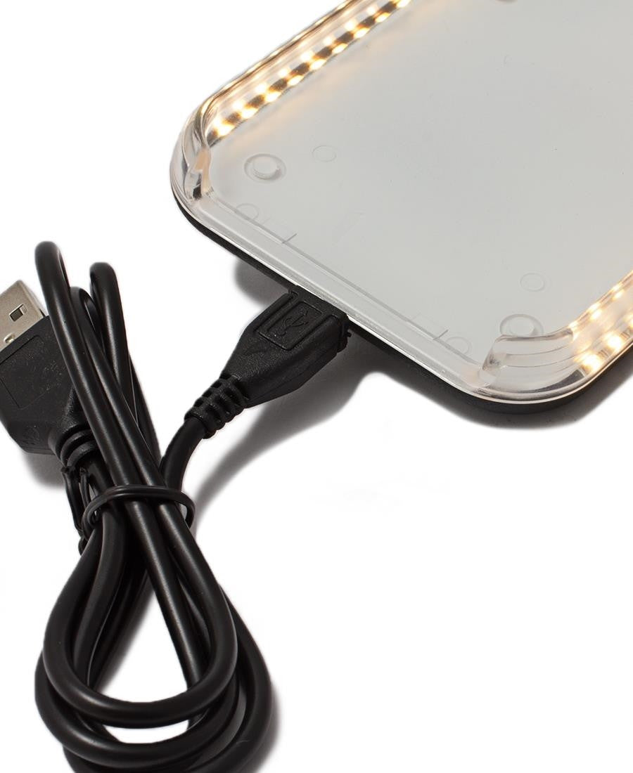 Iphone 6/6S LED Cover - Gold