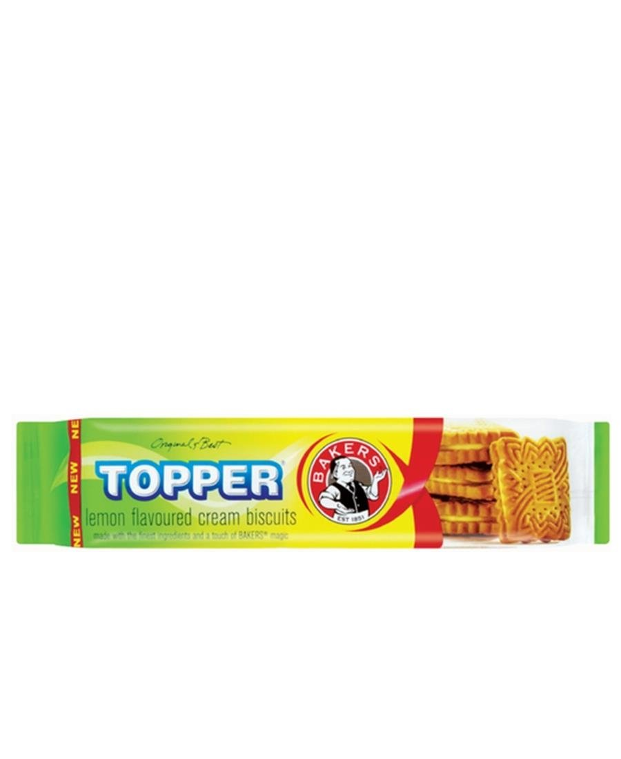 Bakers Topper Lemon 125g - Yellow