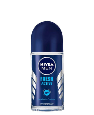 Men's Fresh Active Roll On 50ml - White
