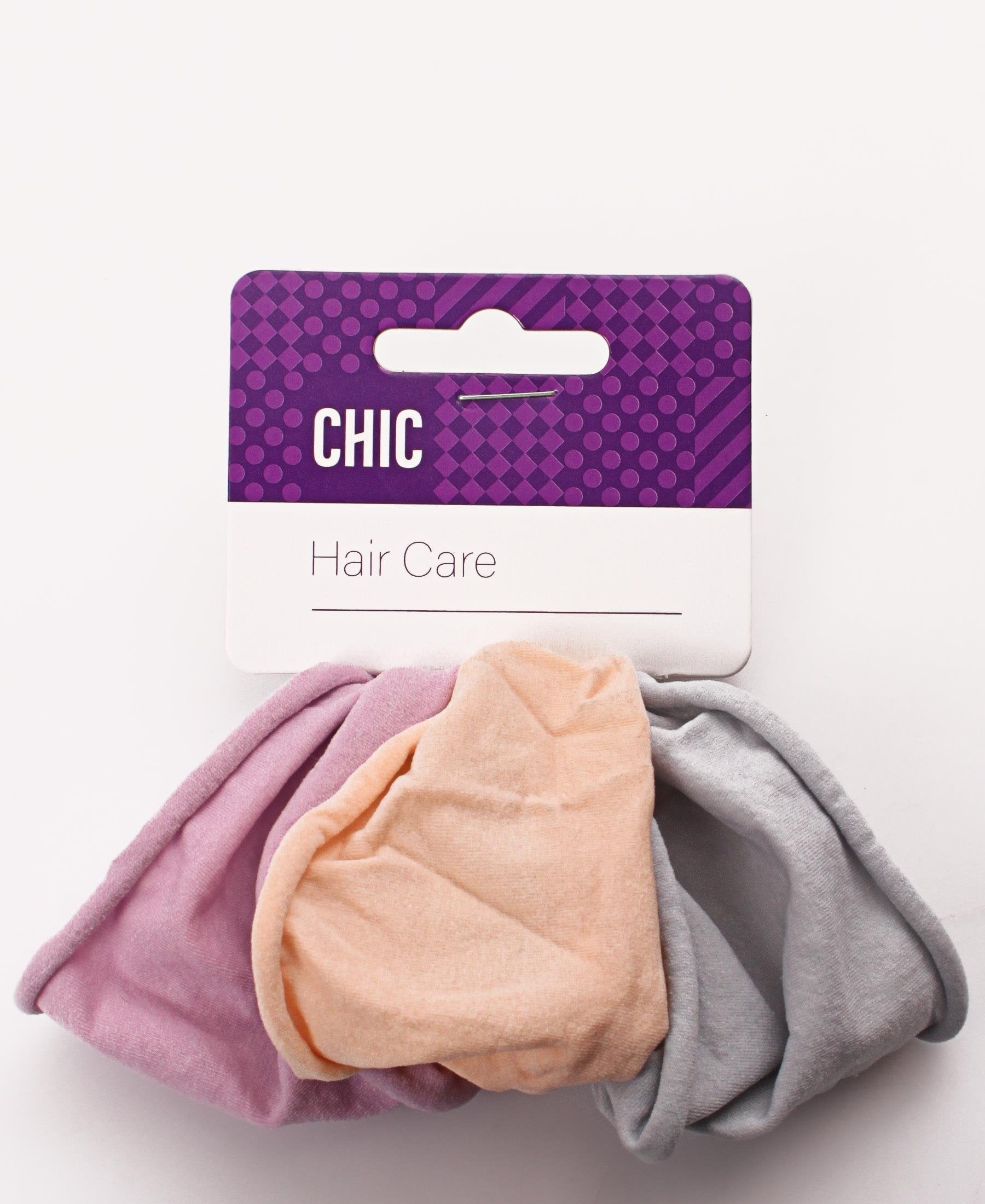 3 Pack Hair Ties - Multi - planet54.com