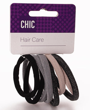 8 Pack Hair Ties - Multi