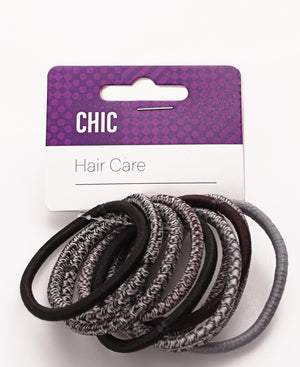10 Pack Hair Ties - Multi