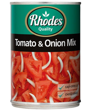 Rhodes Tomato & Onion Mix 410g - Red