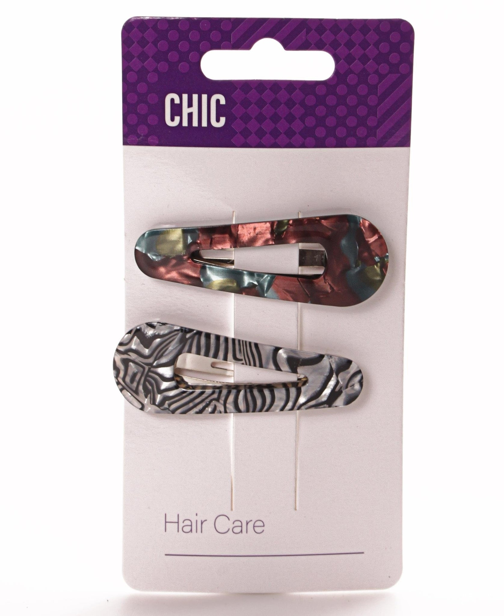 2 Pack Fashion Clips - Multi