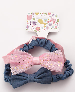 Girls Headbands - Blue