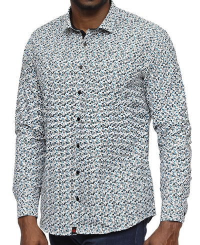 Modern Fit Shirt - Turquoise