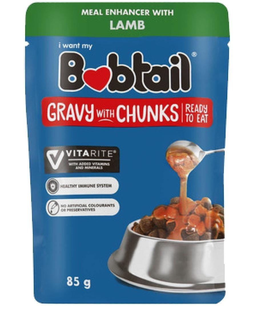 Bobtail Pouch Lamb Gravy 85g - Red