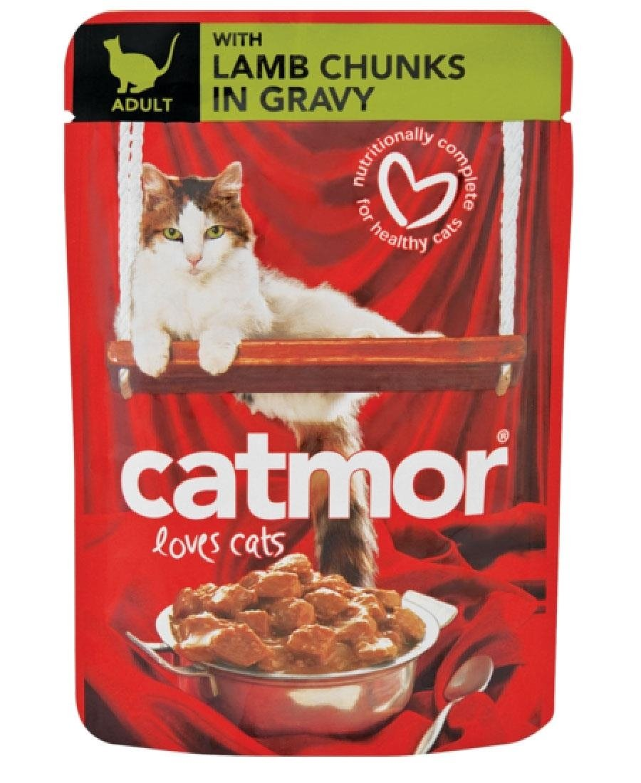 Catmor Pouch Lamb Gravy 85g - Red