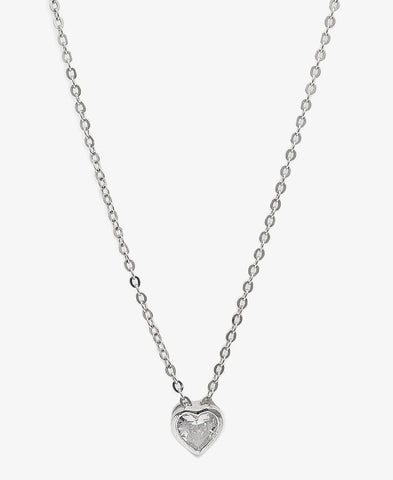 Sterling Silver Rosie Necklace - Silver