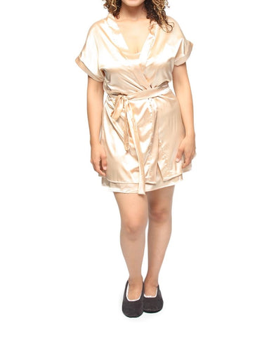 Chemise & Gown Set - Gold