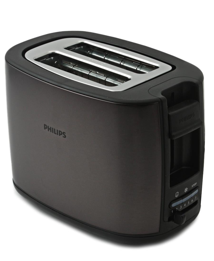 Philips 2 Slice Toaster - Black