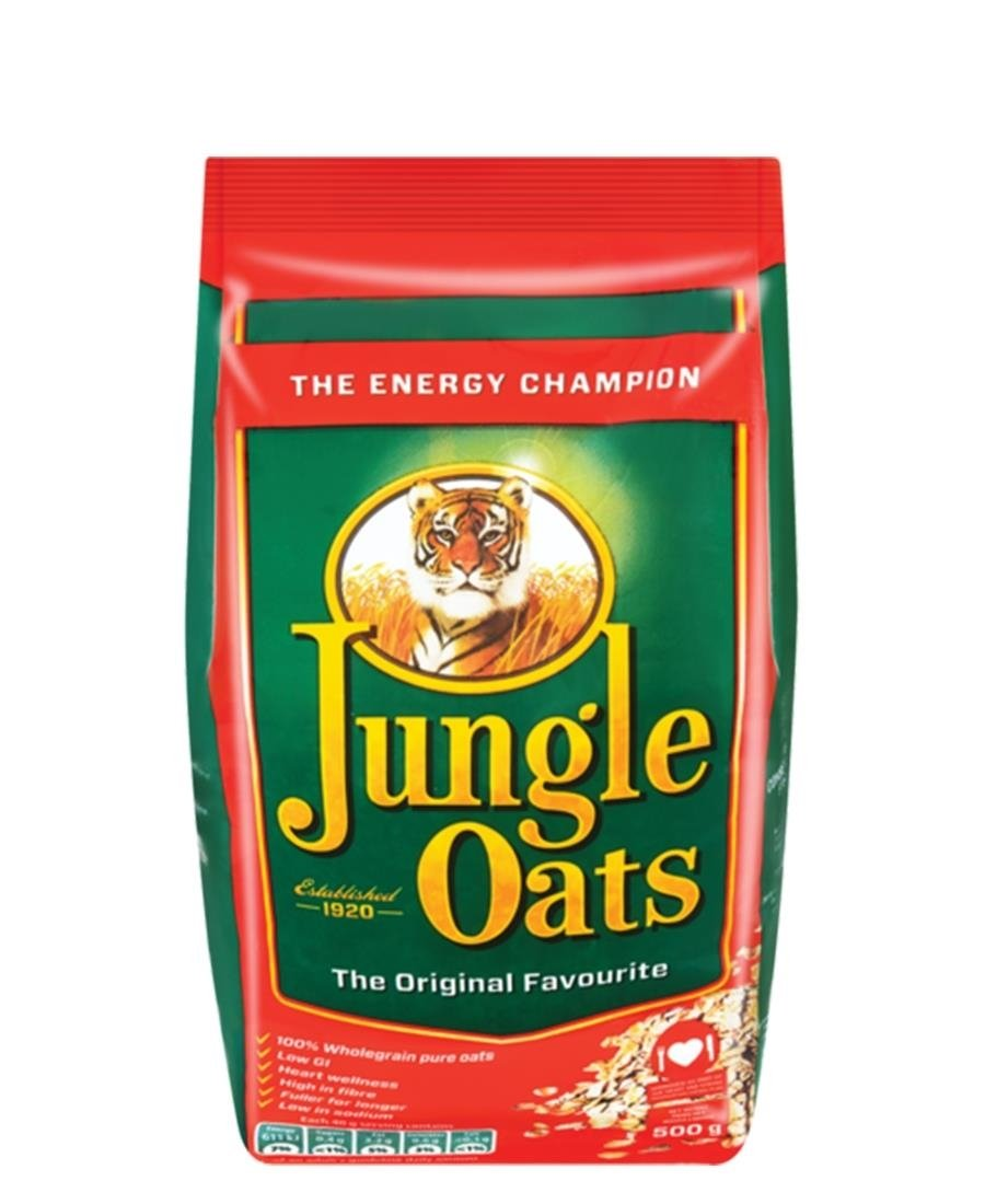 Jungle Oats Pouch 500g - Green