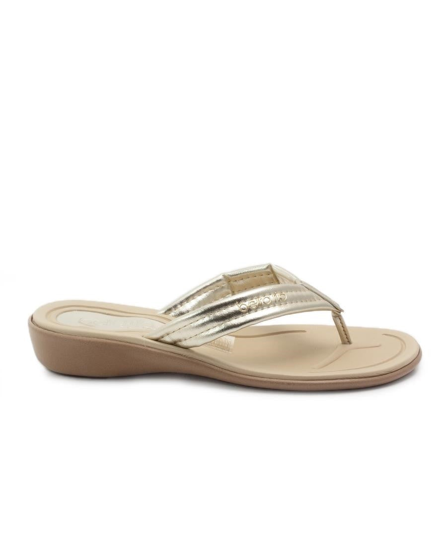 Flat Slip On - Gold