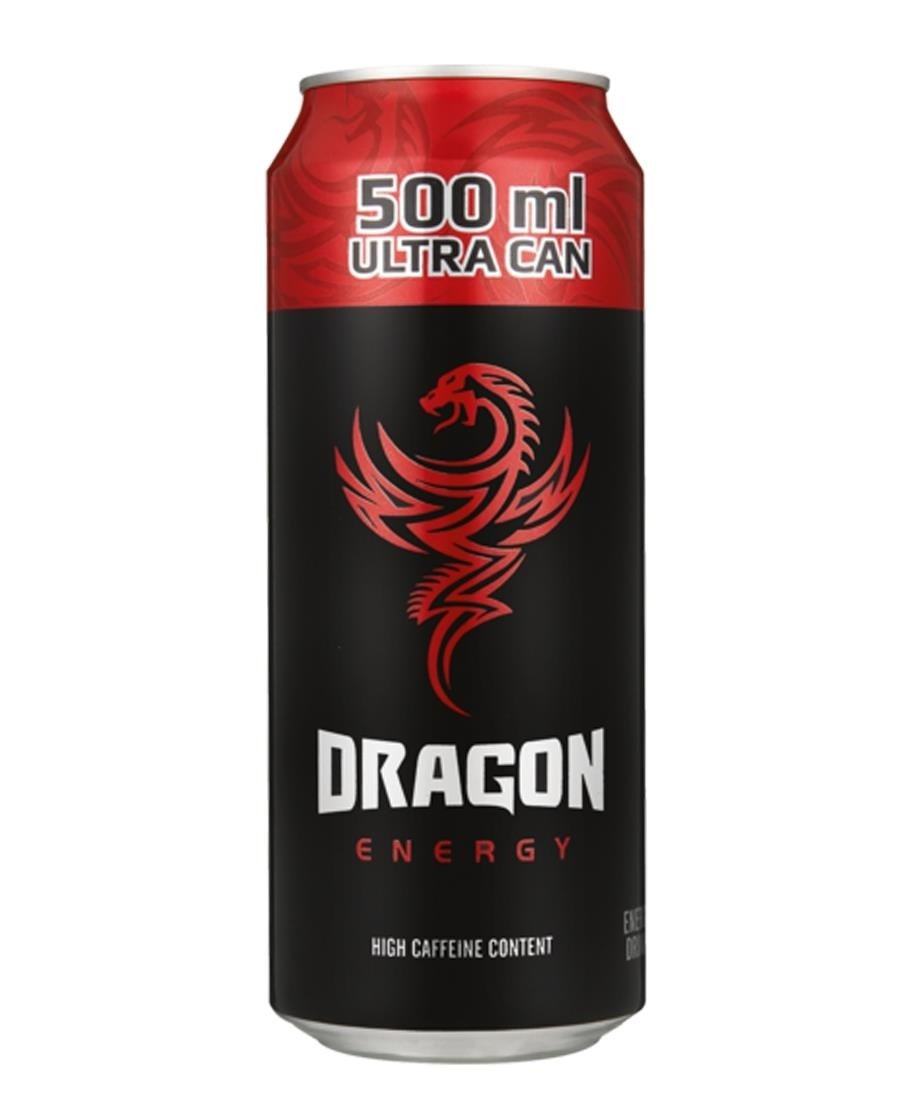 Dragon Energy Drink 500ml - Red