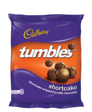 Cadbury Tumbles Shortcake 65g - Purple