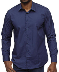 Slim Fit Shirt - Navy