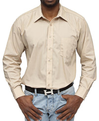 Modern Fit Shirt - Beige